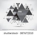 futuristic technology... | Shutterstock .eps vector #387672310