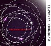 eps10 vector abstract... | Shutterstock .eps vector #387682456