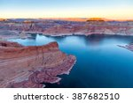 Top View Of Lake Powell And...