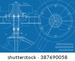 vector mechanical engineering... | Shutterstock .eps vector #387690058
