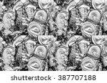recycle aluminum or metal... | Shutterstock . vector #387707188