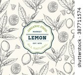 Lemon Tree Design Template....