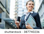 portrait of business woman... | Shutterstock . vector #387740236