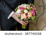 the bride's bouquet  | Shutterstock . vector #387740338