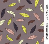 seamless decorative stylized... | Shutterstock .eps vector #387750106
