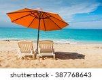 beautiful st martin caribbean... | Shutterstock . vector #387768643