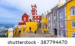 most beautiful castles of... | Shutterstock . vector #387794470