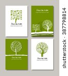 trees emblems and logos design  ...   Shutterstock .eps vector #387798814
