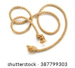 ship rope isolated on white...   Shutterstock . vector #387799303