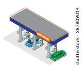 gas station. petrol fuel tank ...