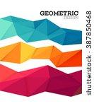 geometric pattern vector... | Shutterstock .eps vector #387850468