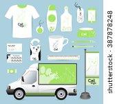 vector identity corporate... | Shutterstock .eps vector #387878248