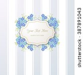 vintage background with forget...   Shutterstock .eps vector #387891043