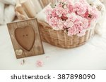 shabby chic style pink pastel