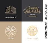 Vector Real Estate Logo Design...
