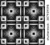 design seamless square pattern. ... | Shutterstock .eps vector #387939598