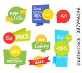 special offer sale tag discount ... | Shutterstock .eps vector #387946246