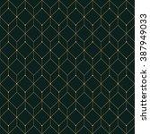 vector seamless pattern. modern ... | Shutterstock .eps vector #387949033