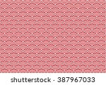 illustration of wave crest... | Shutterstock .eps vector #387967033