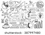 business plan scheme | Shutterstock . vector #387997480