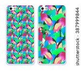 phone case collection.detailed... | Shutterstock .eps vector #387999844