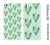 phone case collection.detailed... | Shutterstock .eps vector #387999850
