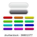 set of raster buttons | Shutterstock . vector #38801377