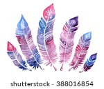 feathers | Shutterstock . vector #388016854