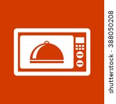 microwave icon | Shutterstock .eps vector #388050208