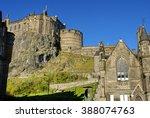 Edinburgh Castle On Castle Hill ...
