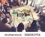 seo search engine optimization... | Shutterstock . vector #388082956