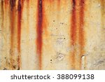 Rust Stains On Concrete Surface