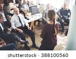 conference training planning... | Shutterstock . vector #388100560