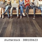 diversity people connection... | Shutterstock . vector #388100623