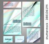 corporate identity template set....   Shutterstock .eps vector #388106194