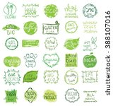 cruelty free  not tested on... | Shutterstock .eps vector #388107016