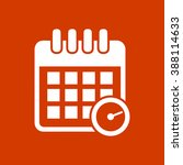 calendar appointment icon | Shutterstock .eps vector #388114633