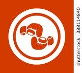 boxing gloves icon   Shutterstock .eps vector #388114840