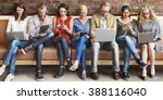 diversity people connection... | Shutterstock . vector #388116040