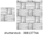 black and white  pattern of... | Shutterstock .eps vector #388137766