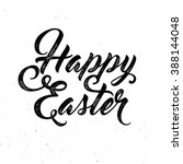 Happy Easter Lettering For...