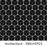 seamless grid pattern of  three ... | Shutterstock . vector #388145923