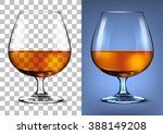 glass of cognac | Shutterstock .eps vector #388149208