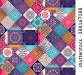 seamless pattern. vintage... | Shutterstock .eps vector #388167088