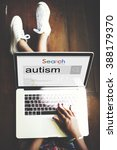 Small photo of Autism Learning Disability Mental Condition Concept