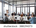 business people clapping hands... | Shutterstock . vector #388194373