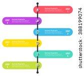 business infographics vector... | Shutterstock .eps vector #388199074