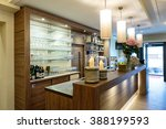 bar with a nice counter and... | Shutterstock . vector #388199593