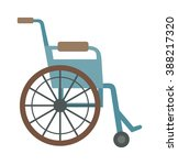 Wheelchair Flat Design Medical...