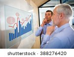 graph against businessman with... | Shutterstock . vector #388276420
